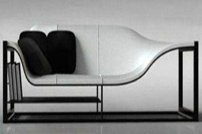 玻璃钢异形休闲椅