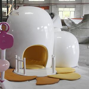 玻璃钢儿童乐园亲子造型屋洞洞屋