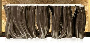 树桩玻璃钢凳子