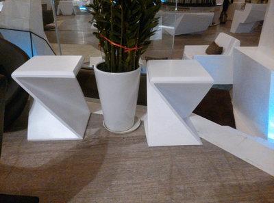 商场休闲椅玻璃钢材质