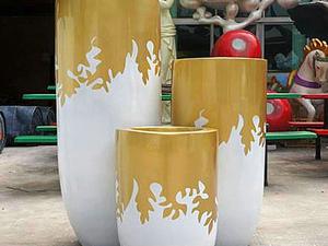 高档玻璃钢经典花器