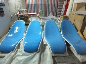 玻璃钢沙滩休闲躺椅