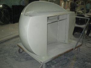 定制玻璃钢前台