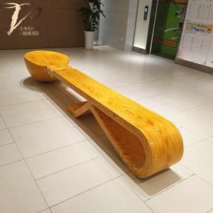 商场创意个性勺子坐凳定制
