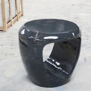 玻璃钢材料的酒店茶几小凳子通用