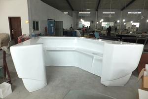 深圳玻璃钢厂家定制大型玻璃钢前台