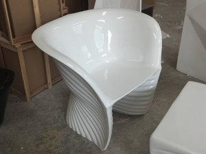 玻璃钢贝壳休闲椅