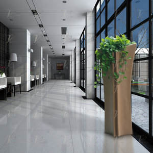 北欧创意玻璃钢休闲花盆 承接酒店大堂户外落地式大号插花 花器