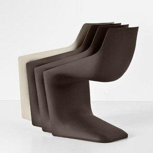 玻璃钢S型椅