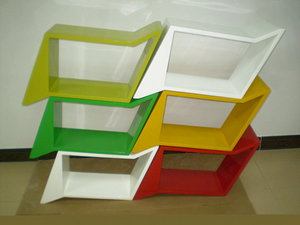 玻璃钢艺术架