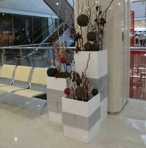 玻璃钢方形花盆
