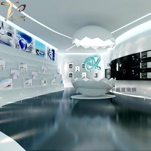 创意玻璃钢蛋壳造型室内展式厅安装工程