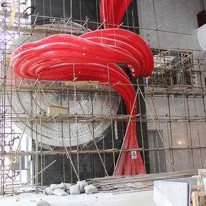 玻璃钢厂家定制昆钢索菲亚酒店软硬装工程案例