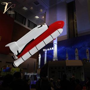 玻璃钢造型定制火箭模型