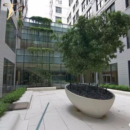 定制玻璃钢大型树池厂家