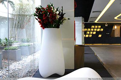 玻璃钢经典花器设计