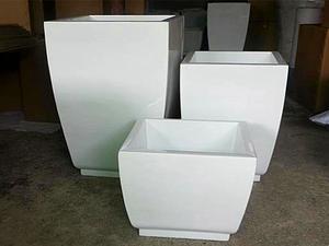 玻璃钢经典花器生产