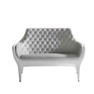 玻璃钢+PU皮休闲椅