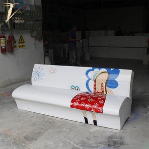 玻璃钢彩绘书本造型椅子