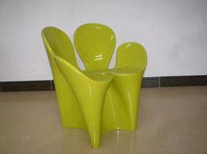 玻璃钢花瓣椅子