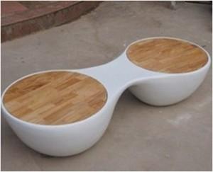 玻璃钢两人凳