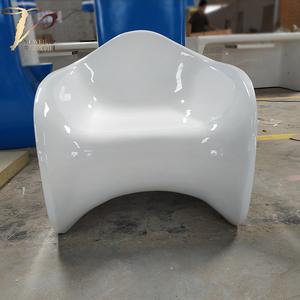 玻璃钢安乐椅接待椅子