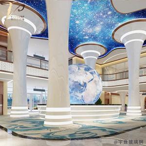定制玻璃钢展厅形象大厅