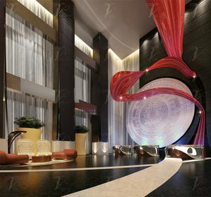 玻璃钢酒店硬装安装工程