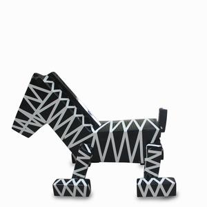 小马坐凳卡通创意玻璃钢椅子