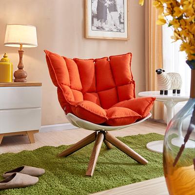 设计师沙发椅玻璃钢肌肉椅稻壳椅